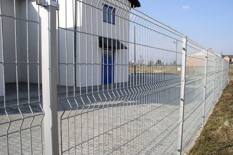 забор 3д оцинкованный