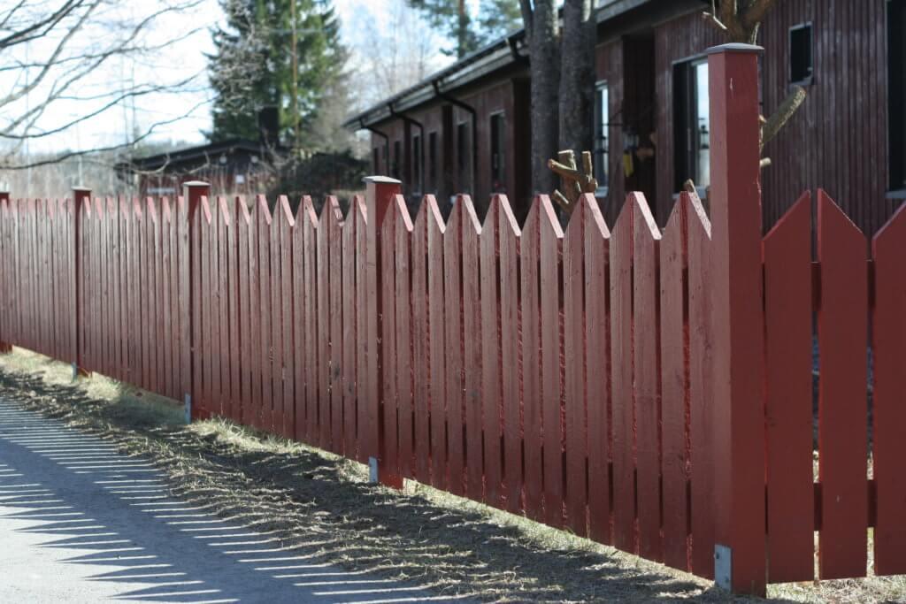 Забор на дачу эконом вариант