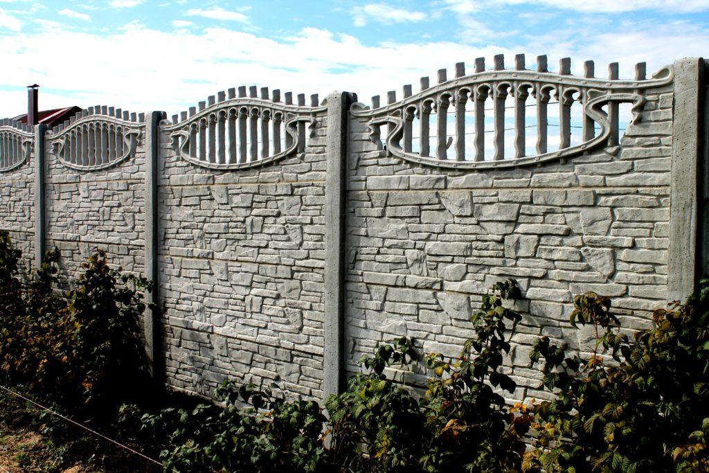 Декоративный секционный забор