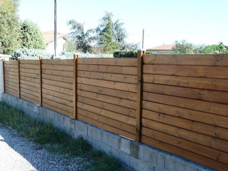 Деревянный забор без гвоздей