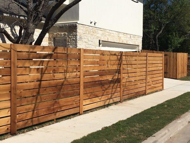 Деревянный забор крафт