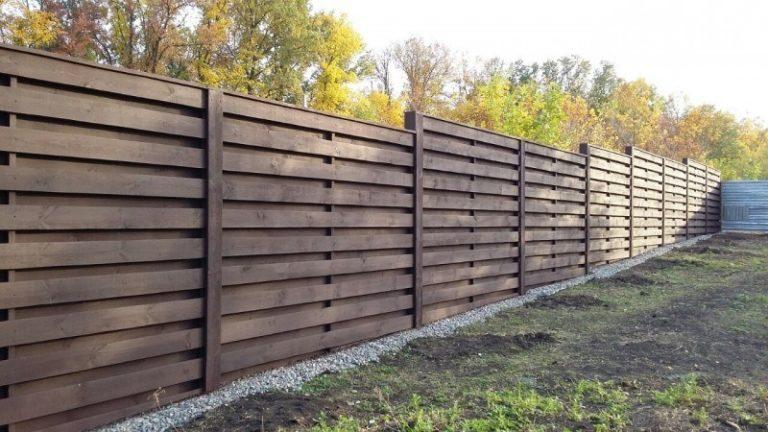 Финский забор деревянный