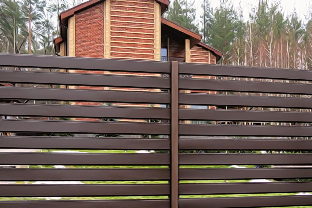 Секционный забор ранчо