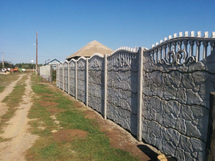 Забор наборный секционный