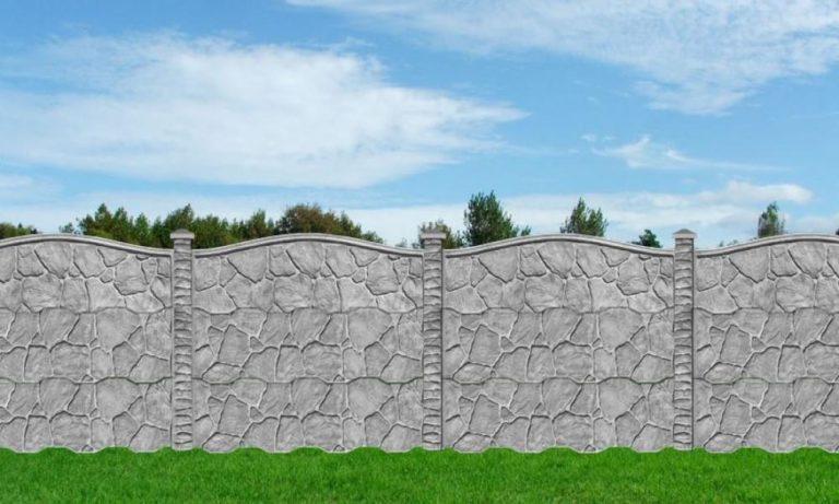 Забор жби секционный