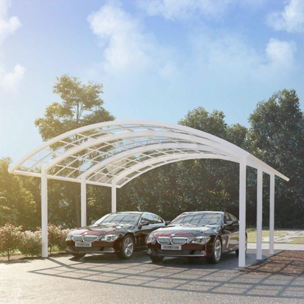 Алюминиевые навесы для автомобиля